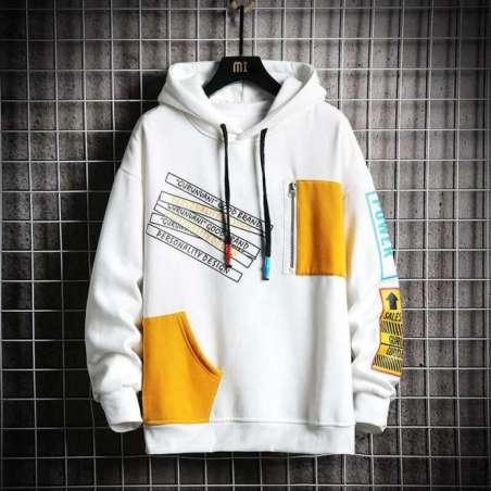 Blusa de Moletom Plus Size Masculino Juvenil Sweatshirt
