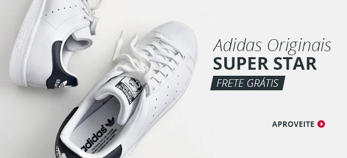 Tênis Adidas Original Masculino Branco SantoGato Online